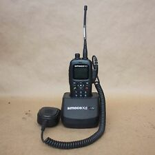 SIMOCO XD SDP660 UW HAND HELD DIGITAL PORTABLE UHF two way RADIO + charger bay
