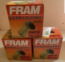 NEW Lot of 3 Fram CH8712 Oil Filters