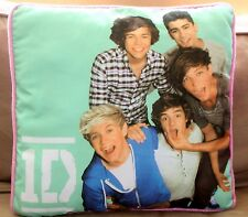 1D Pillow ONE DIRECTION Toss Harry Louis Niall Liam Zayn Pink Early Days