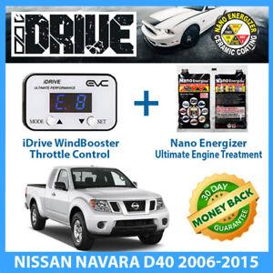 IDRIVE THROTTLE CONTROL for NISSAN NAVARA D40 2006-2015 + NANO ENERGIZER AIO
