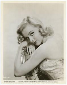 Alluring Blonde Diane McBain Original 1960 Hollywood Regency Glamour Photograph