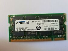 Crucial PC2700S 2GB (2 x 1GB) DDR 333 CL2.5 RAM CHIPS