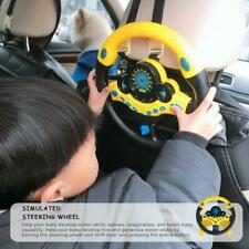 New Kid Copilot Simulated Steering Wheel Racing Driver Toy Educational Sounding