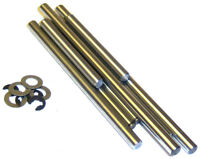 81032 RC Lower Arm Pins + E-Clips 1/8 HSP