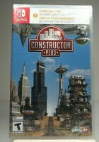 Constructor Plus - Nintendo Switch No physical game included !!
