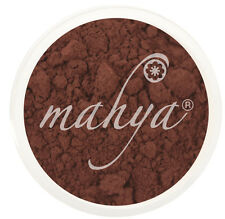 MAHYA Pure Vegan Mineral Makeup Eye Shadow Pigment RUSSET Net Weight: 0.052 oz.