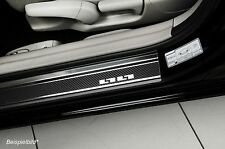 Einstiegsleisten passend für Hyundai i20 II 5T ab 2015 Edelstahl Carbonfolie
