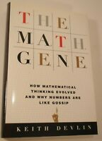 The Math Gene by Keith Devlin (2000 Hardcover Perseus Books Group)