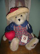 """Boyds Bears Plush 2003 ~16"""" Roma Applesmith~ Boyds Bear Country Exclusive"""