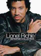 LIONEL RICHIE The Definitive Collection Sound & Vision 2CD/DVD NEW PAL R0