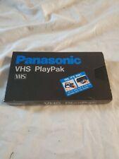 New listing Panasonic Vhs PlayPak Vymw0009 Tape Converter With Original Box