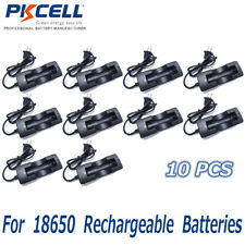 10 x PKCELL 3.7v Battery Charger For 18650 Rechargeable Batteries 2018