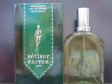 Vetiver Vintage by Carven For Men 3.3 oz Eau de Toilette Spray New In Box Rare