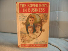 THE ROVER BOYS IN BUSINESS antique vintage old childrens  for young Americans