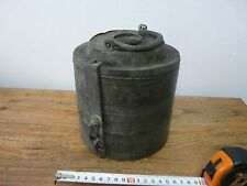 VERY RARE ANTIQUE OTTOMAN 18th c. HANDMADE COPPER FOOD PAIL CANTEEN FOR 3 DISHES