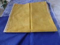2m,90 le tissus jaune et le bleu plastifié pour nappes  jardin ??