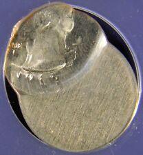 1965 WASHINGTON QUARTER DOLLAR 25C STRUCK 70% OFF CENTER AT K=11:00, ANACS MS62