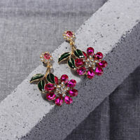 Unique Sun Flower Shape Stud Earrings Set Auger Earrings For Women Accessories