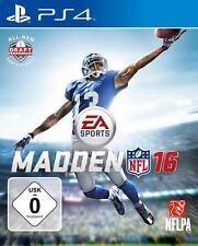 Madden NFL 16 PS4 Playstation 4 NEUF + EMBALLAGE ORIGINAL