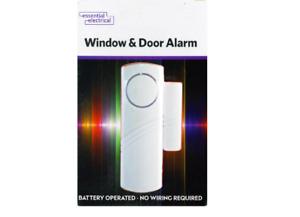Wireless Entry Alarm Home Shop Security Door Window Magnetic Contact Sensor