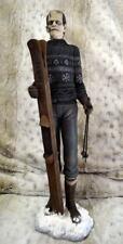 "Boris Karloff FRANKENSTEIN MONSTER Olympic Skier 18"" STATUE PRO Build Paint OOAK"
