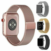 For Apple Watch Series 4/3/2/1 Milanese Stainless Steel iWatch Band 38mm 42mm