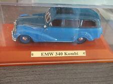Atlas Edition DDR Modelle 1:43 EMW 340 Kombi  Blau in Vitrine