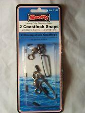 1152 Scotty Heavy Duty (2) Coastlock Snap Downrigger Cable Terminal Kit 4/0 480