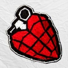 Green Day American Idiot Heart Logo Embroidered Patch Rock Billie Joe Armstrong