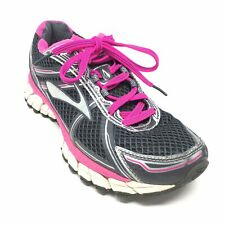 Women's Brooks GTS 15 Running Shoes Sneakers Size 7.5 B Gray Pink Silver H6