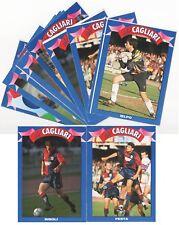 11 CARTOLINE CALCIATORI CAGLIARI 1992-93