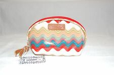 Missoni Wave Pattern Multi-Coloured Coated canvas Cosmetic Bag 17x10 CM