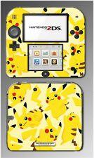 Pikachu Art Pokemon Go Design Pokeball Video Game Decal Skin Cover Nintendo 2DS