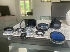 Mixed lot of Camera Filters/Accessories Mixed Brands See Photos