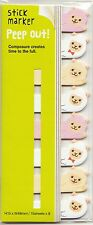 Cute Kawaii Alpaca Page Flags Japanese Stationery Sticky Memo Diary Planning