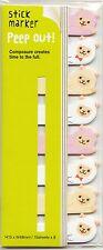 Carino Kawaii Alpaca Pagina Bandiere giapponese Cancelleria appiccicoso MEMO diario pianificazione
