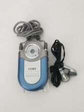 Coby CX-7 Mini Portable AM/FM Pocket Radio w/ Neck Strap & Earphones