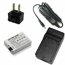 7.4v Battery + Charger For Canon DS126311 EOS REBEL T3i Digital Camera Brand New