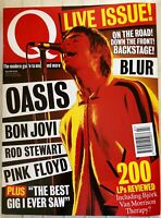 Q Magazine Jul 1995 - Oasis - in stock from UK - Bon Jovi - Pink Floyd