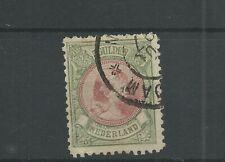 Nederland 48  Wilhelmina   5Gld VFU/gebr  CV 575 €
