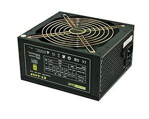 RHOMBUTECH® 640 Watt PC-Netzteil ATX 80 PLUS BRONZE Gaming-Netzteil Saving Power