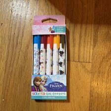 Disney Frozen Scented Gel Crayons - 5 Sweet Wintery Scents