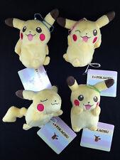 Pokemon Pokémon X and Y Plush Doll Key Chain Complete set of 4 I LOVE PIKACHU