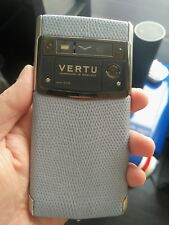 Vertu Signature Touch Seaspray Lézard-très rare
