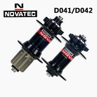 Novatec D041/042SB Mountain Bike Hub 100-135mm Bicycle Hub Set 24/28/32/36 Holes