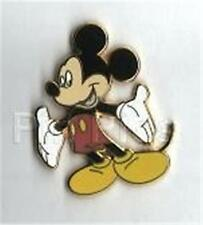 CLASSIC MICKEY STANDING HANDS ARMS OUT OPT DISNEY PIN