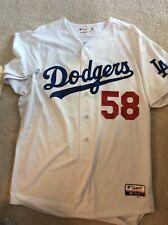 Los Angeles Dodgers TEAM ISSUED JERSEY 2014 Home Chad Billingsley