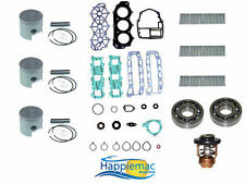 Yamaha 40 50 HP 3 Cylinder Powerhead Rebuild Kit 1995-Later +Main Bearings