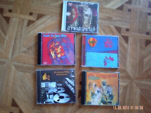 5 CDs SAMMLUNG PAKET PROG ROCK TEN YEARS AFTER SSSSH UNDEAD RECORDE LIVE WATT