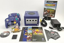 Nintendo Gamecube Purple Zelda Collectors Edition Bundle, 2 Controller und Kabel